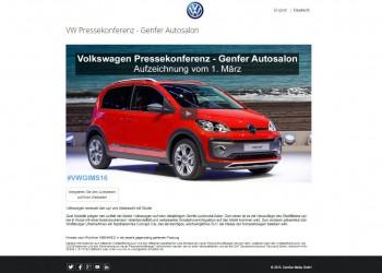 Volkswagen Livestreaming