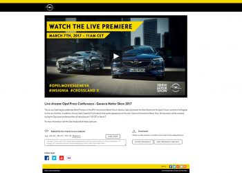 Opel Livestreaming