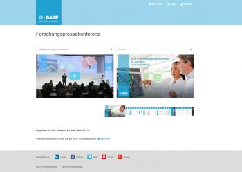 BASF Livestreaming